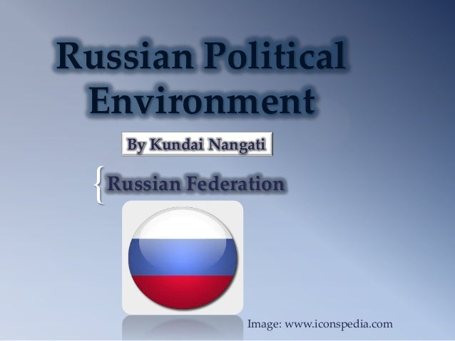 Russian Political Environment     By Kundai Nangati  { Russian Federation                   Image: www.iconspedia.com
