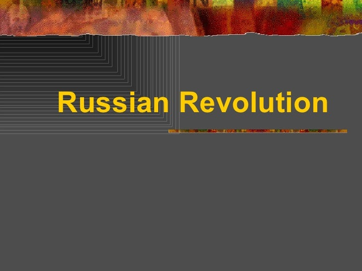Russianrevolution