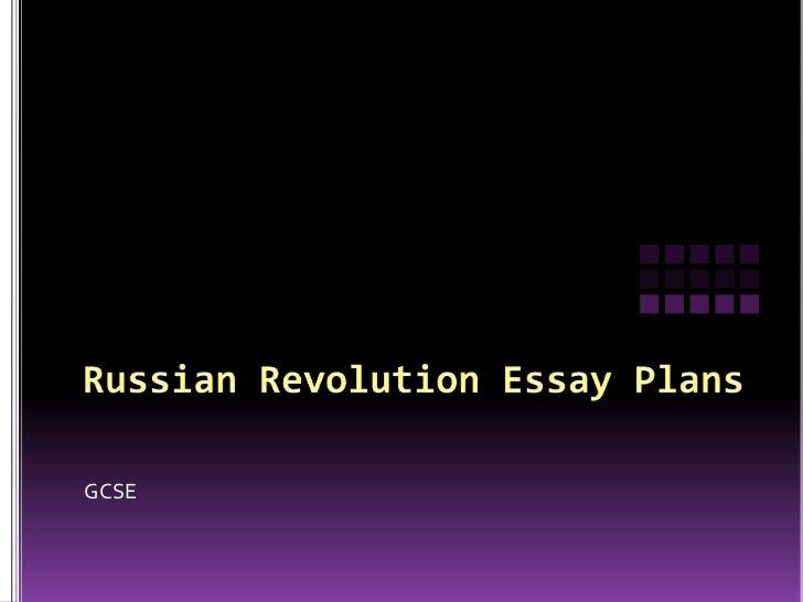 Russian revolution essay plans