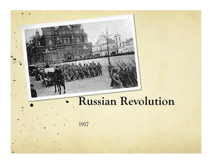 Russian revolution, edited