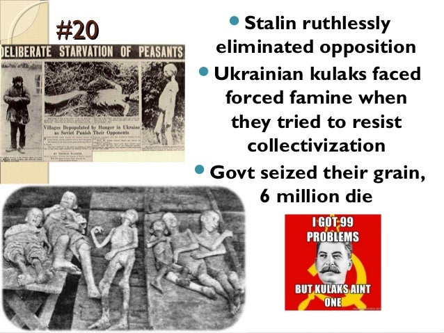 was collectivisation a success or failure Grain production was a good indicator of the success or failure of the collectivisation policy russia: 1924-1941 - the collectivisation of agriculture in gcse history students will look at russia in the first half of the 20th century.