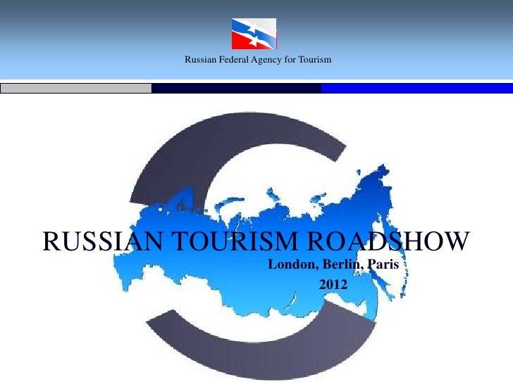 Russian tourism roadshow London