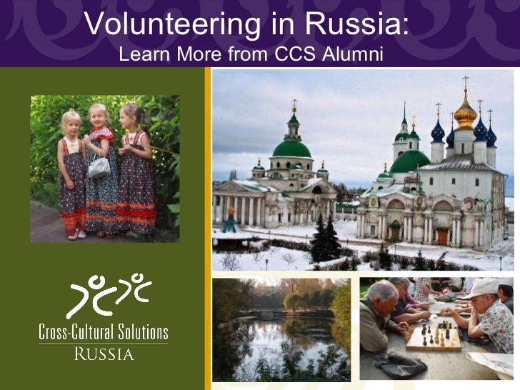 Volunteering in Russia:  Learn More from CCS Alumni