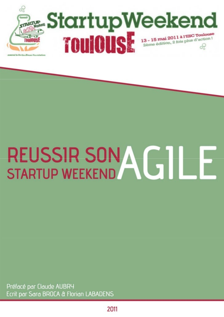 Réussir son startup weekend agile