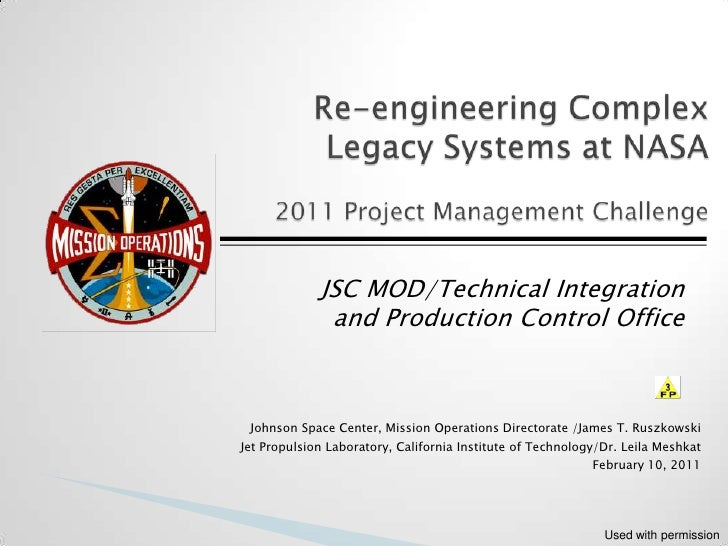 JSC MOD/Technical Integration              and Production Control Office Johnson Space Center, Mission Operations Director...