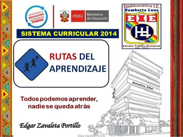 Rutas de aprendizaje 2014 ed_hl_oki