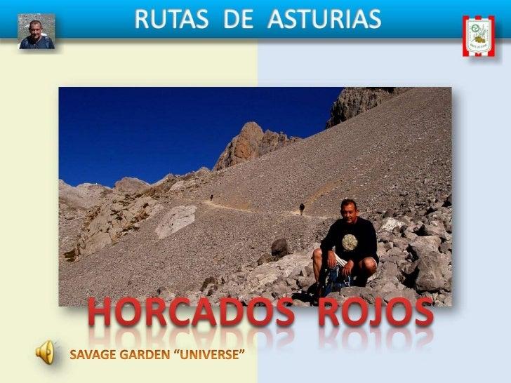 Rutas de asturias horcados rojos