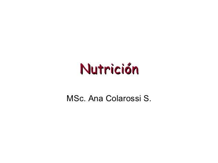 Rutas Metabolicas