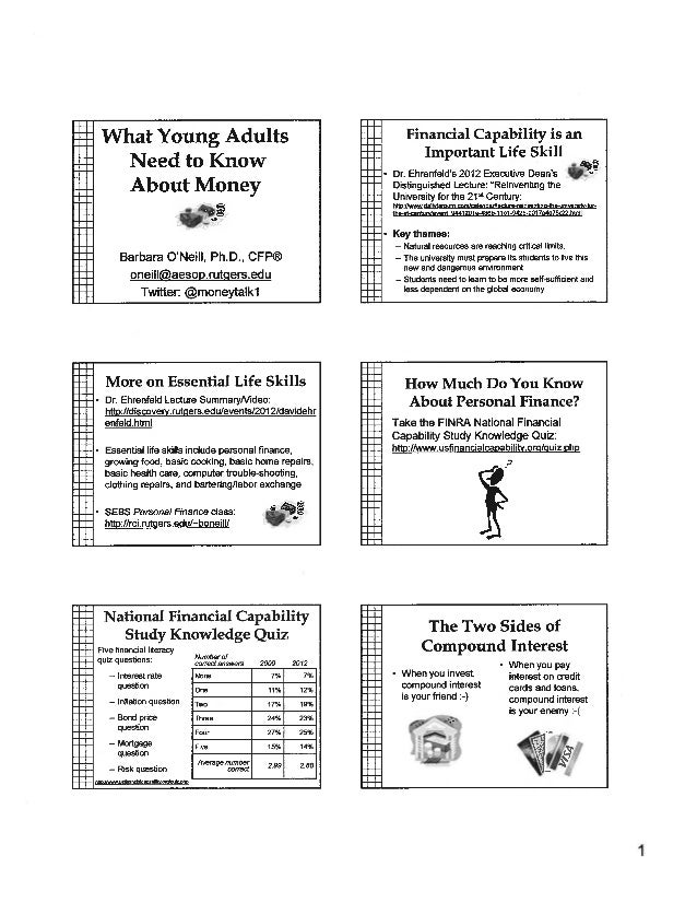 Rutgers Student Lecture-What Young Adults Need to Know About Money-03-14-BUNDLED