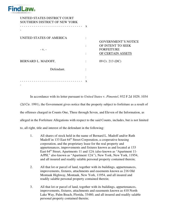 UNITED STATES DISTRICT COURT SOUTHERN DISTRICT OF NEW YORK --------------------------------                    x -  UNITED...