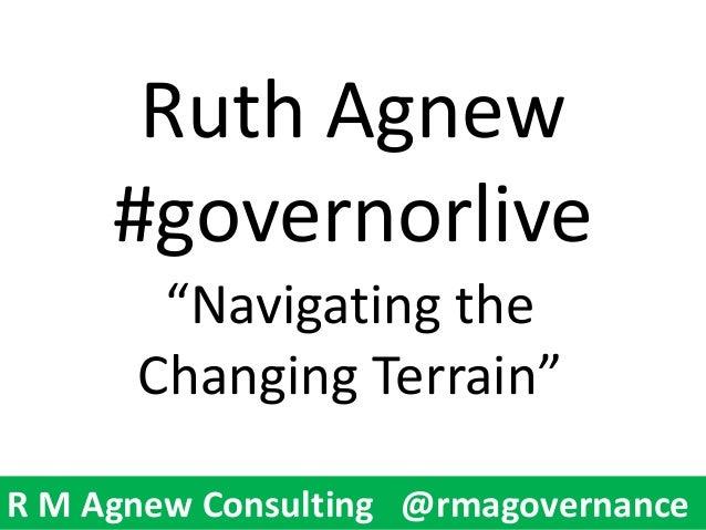 Ruth agnew presentation Modern Governor #GovernorLive 25062013