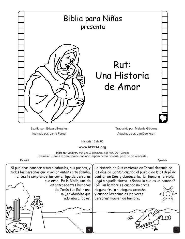 Ruth a love story spanish cb6