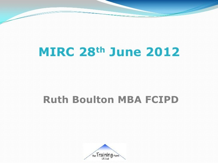 Ruth boulton