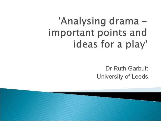 Dr Ruth Garbutt University of Leeds
