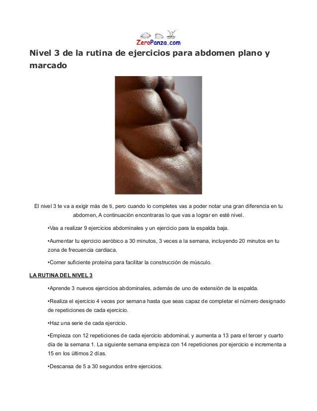 Rutina de 6 semanas de ejercicios para abdomen plano en casa - Rutinas para casa ...
