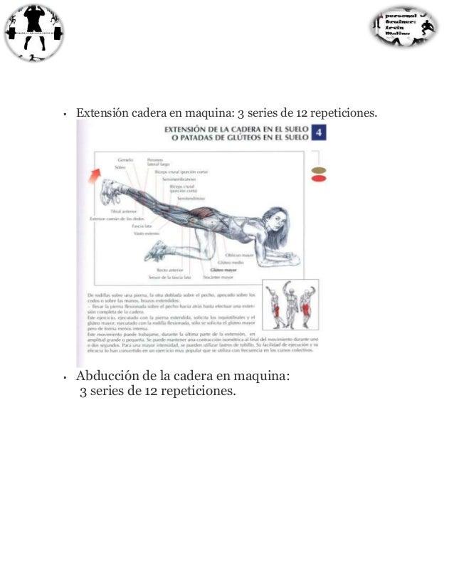 rutina de ejercicios para aumentar masa muscular pdf
