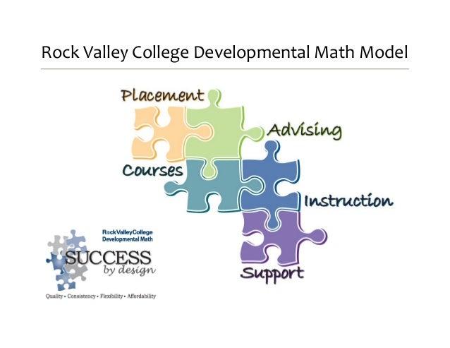 Rock Valley College Developmental Math Model