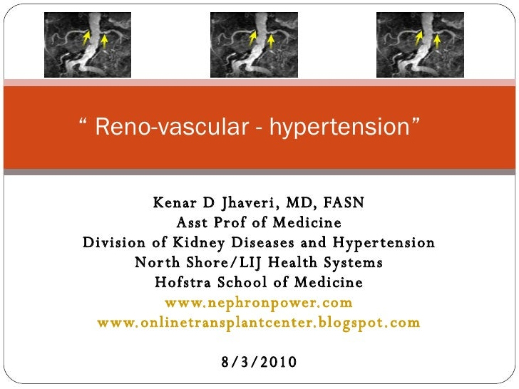 Reno vascular Hypertension