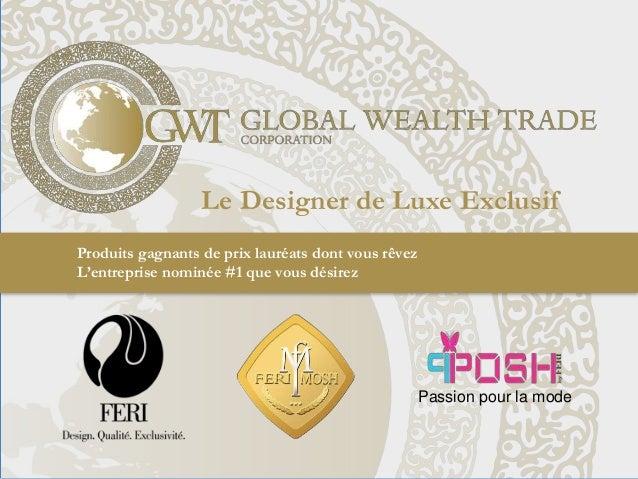 Produits gagnants de prix lauréats dont vous rêvez L'entreprise nominée #1 que vous désirez Le Designer de Luxe Exclusif P...