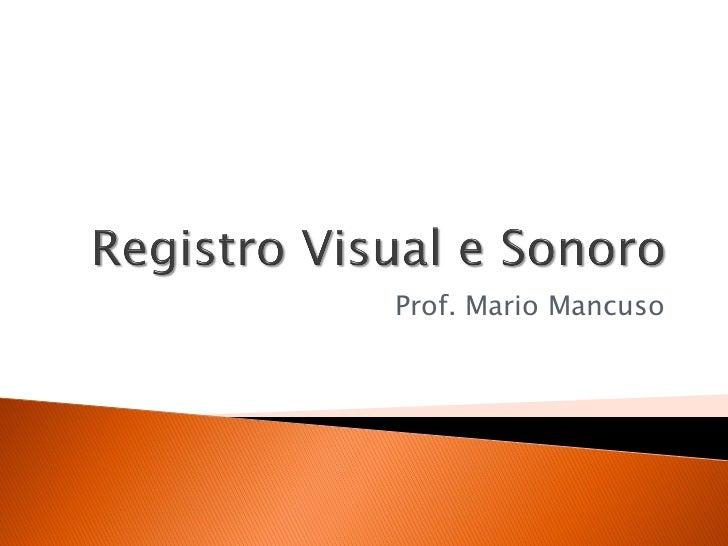 Prof. Mario Mancuso