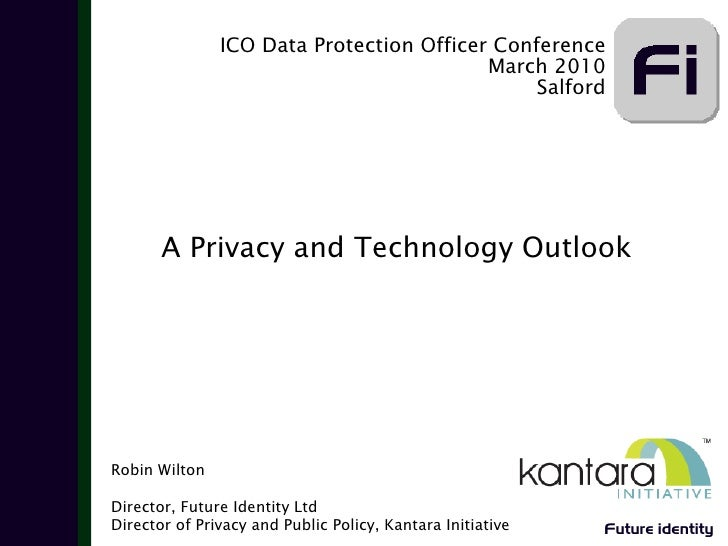 ICO Data Protection Officer Conference                                           March 2010                               ...
