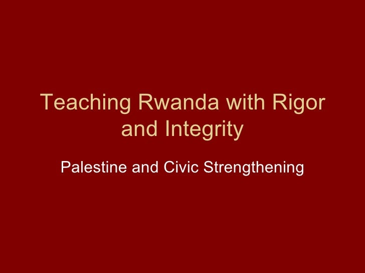 Rwanda Civic Education