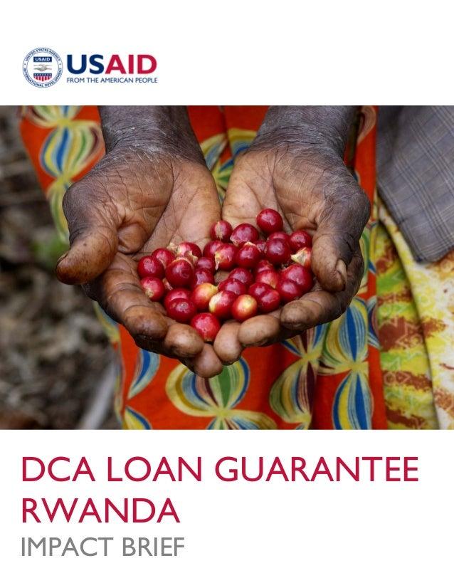 Rwanda Impact Brief
