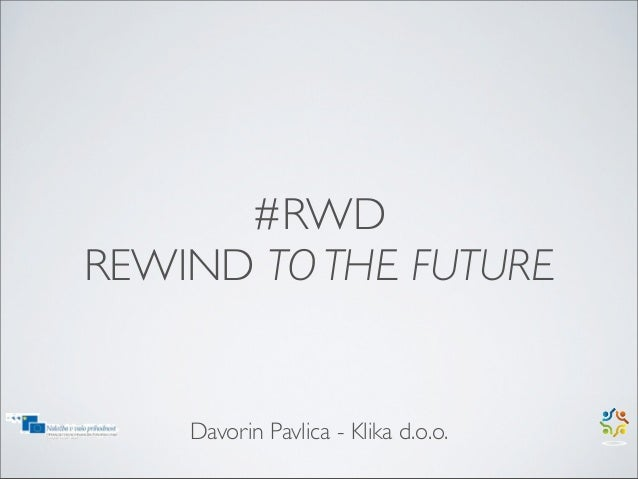 #RWD To the future