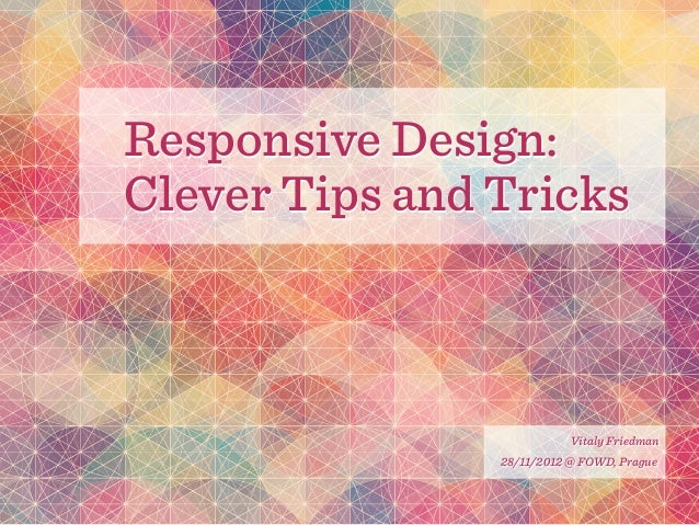 Responsive Web Design Clever Tips And Techniques