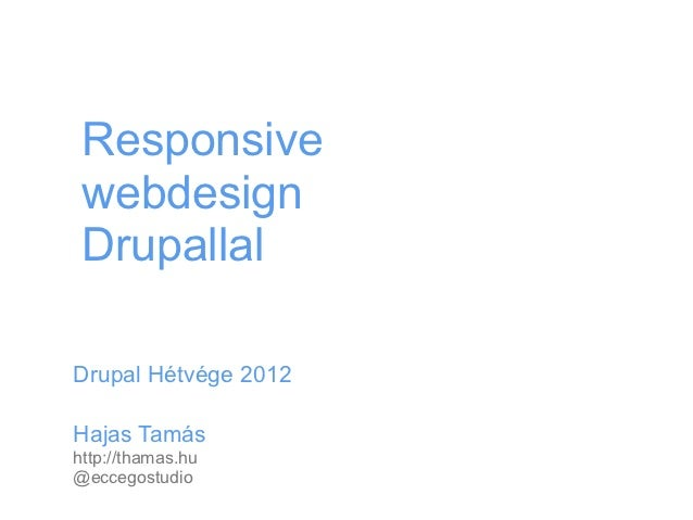 Responsive Webdesign Drupallal