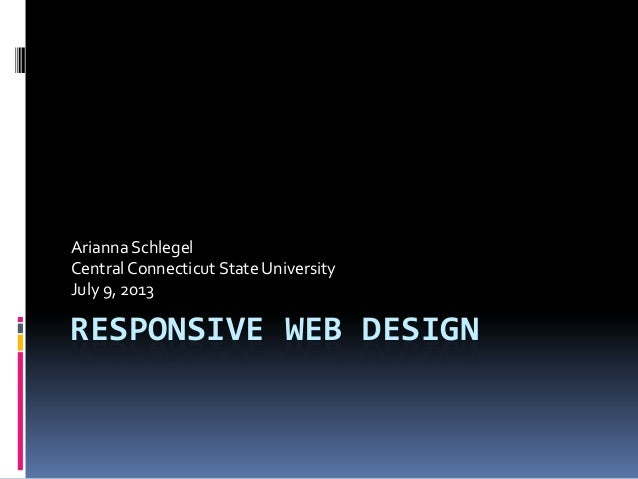 Responsive Web Design & the Library