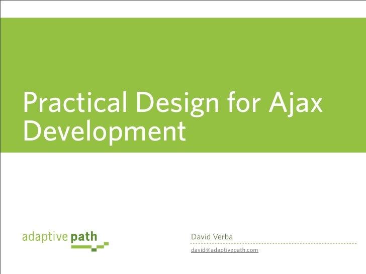 RWE2007-Practical Design for Developers