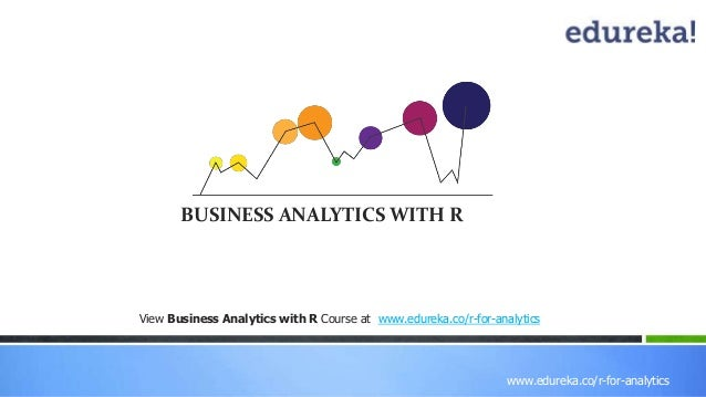 Business Analytics with R