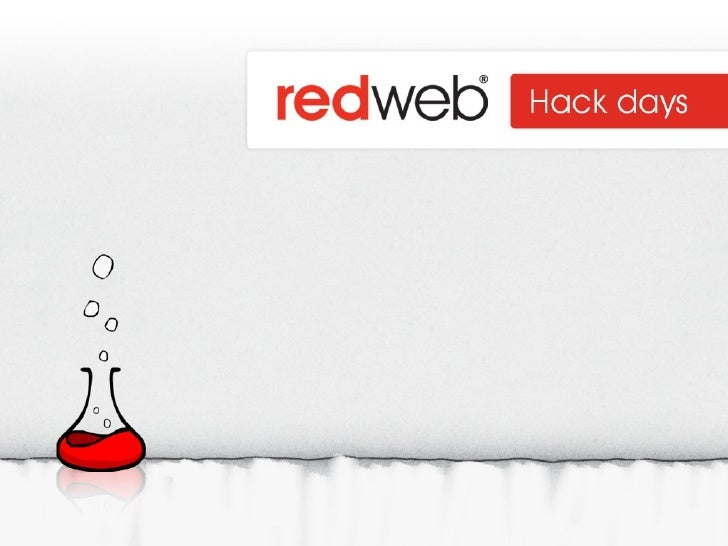 Redweb Hack Days