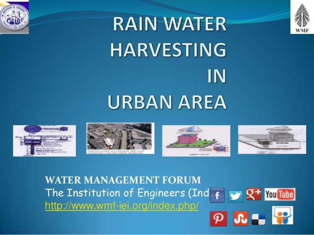 WATER MANAGEMENT FORUMThe Institution of Engineers (India)http://www.wmf-iei.org/index.php/