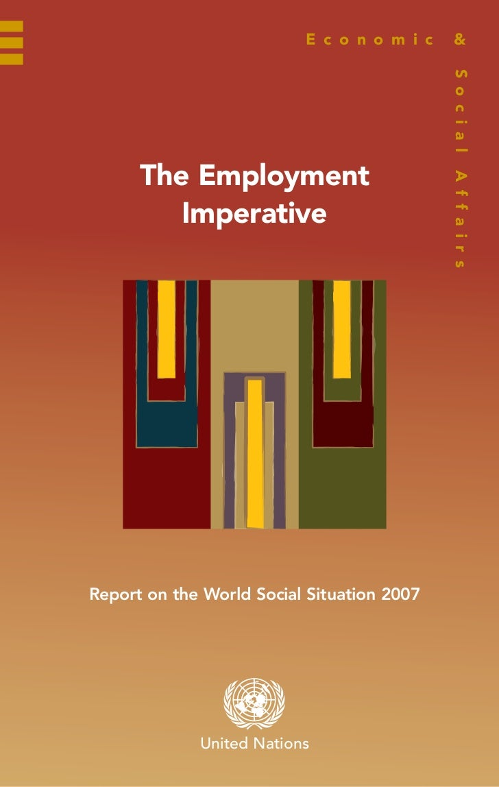 The Employment Imperative