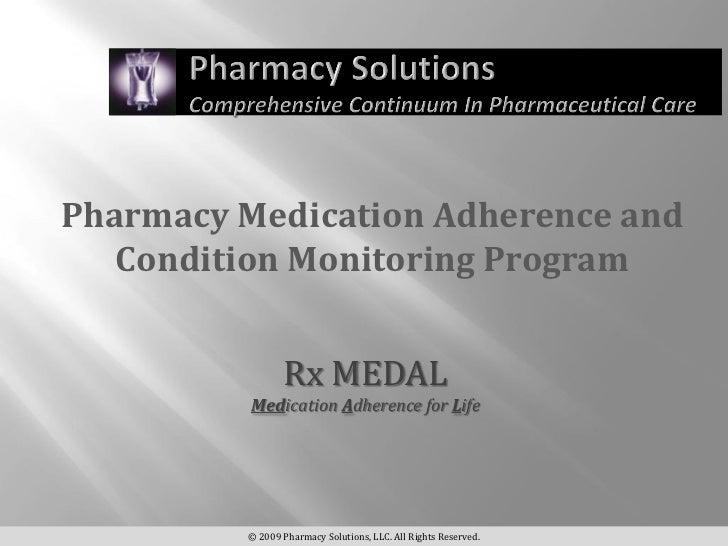 Rx Medal Presentation