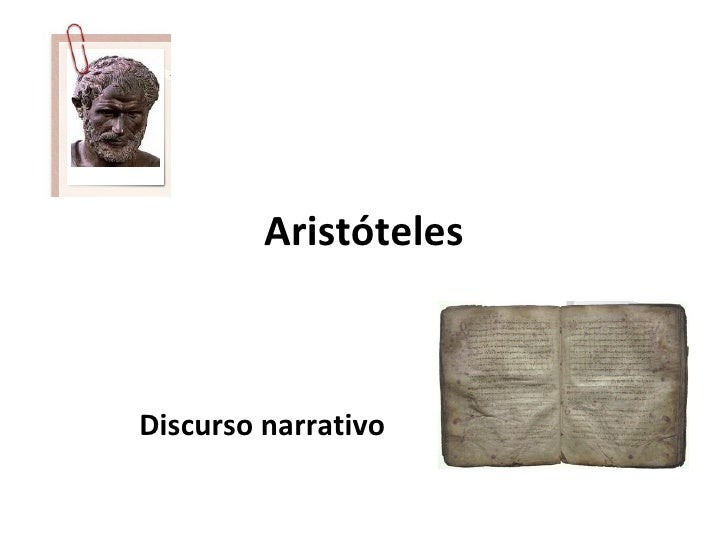 AristótelesDiscurso narrativo