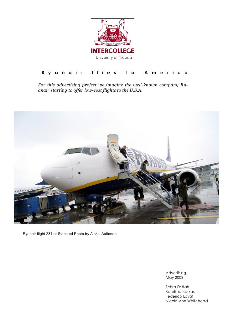 entry strategy of ryanair List of case studies  ryanair's digital strategy to drive growth: 550:  republic tv's controversial entry strategy.
