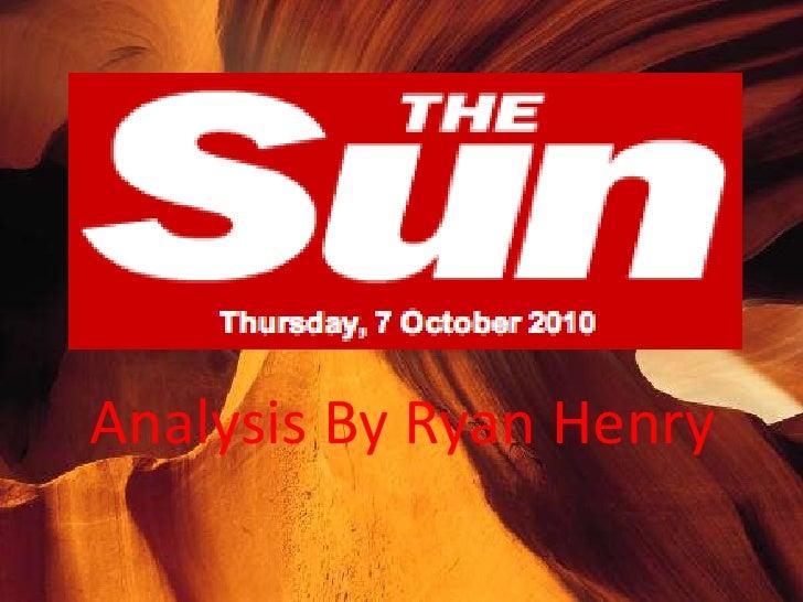 The Sun Case Study