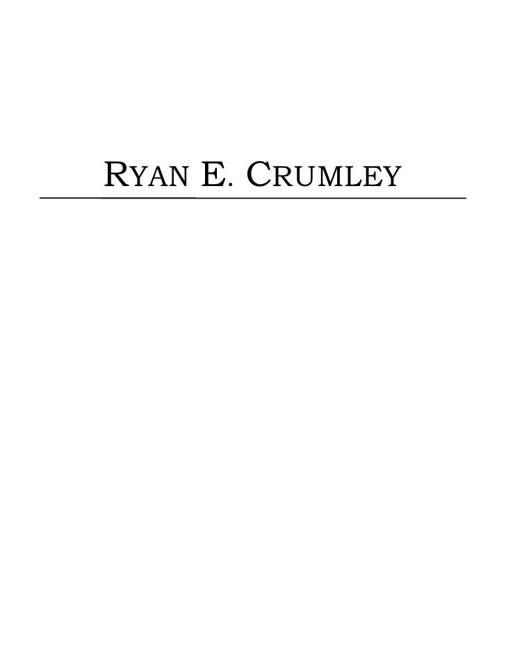 RYAN E. CRUMLEY<br />