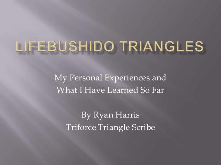 Ryan Harris - Lifebushido Triangles - Triforce Triangle