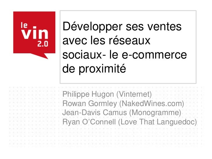 Ryan o connell le vin20 powerpoint2