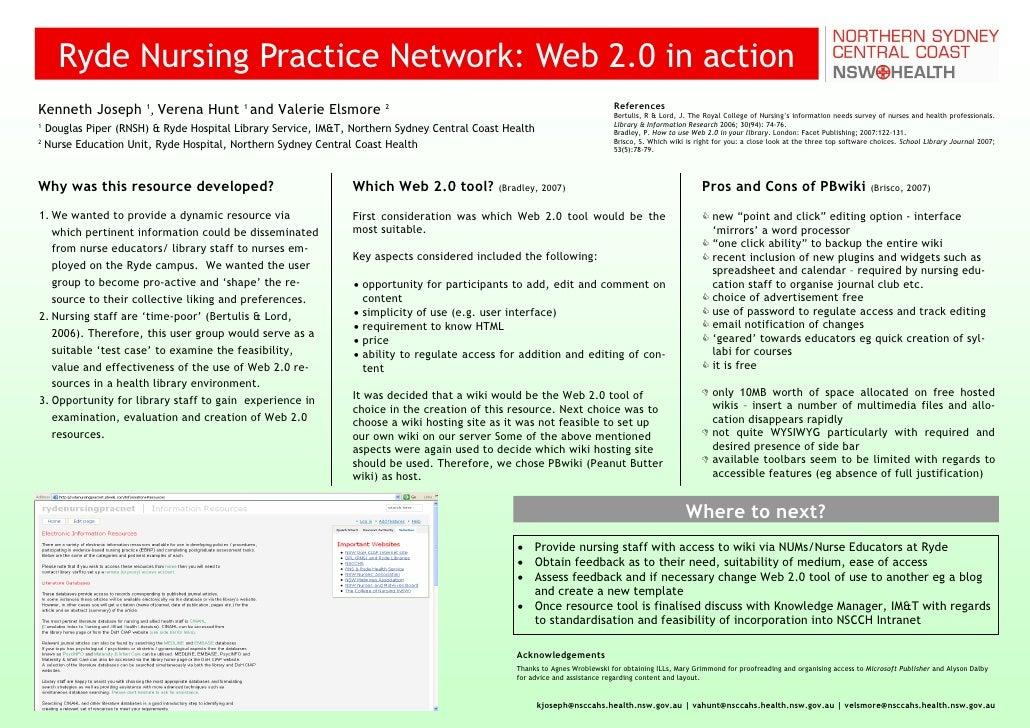 Ryde Nursing Practice Network: Web 2.0 in action                                                                          ...