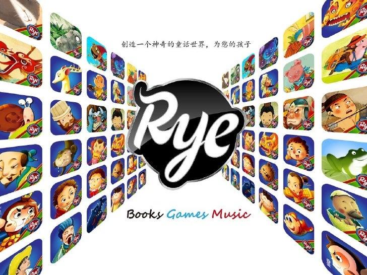 关于我们( Rye Studio )北京:研发团队上海:游戏开发成都:音乐创作