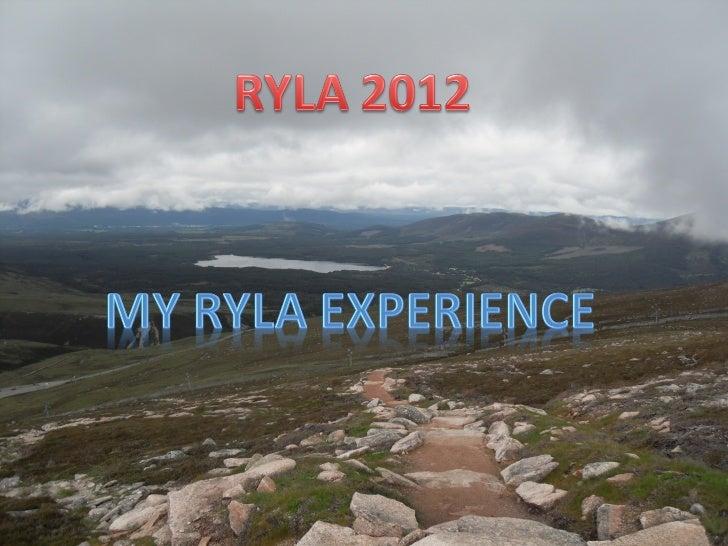 RYLA Talk