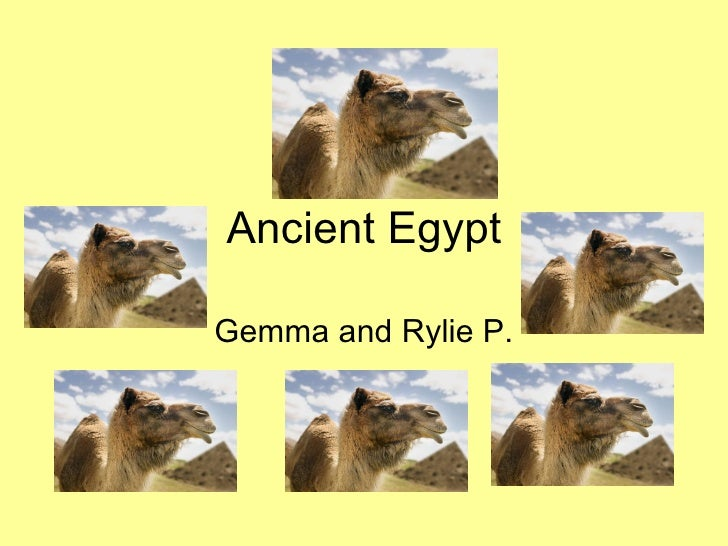 Ancient Egypt Gemma and Rylie P.