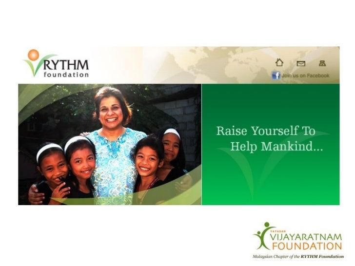 THE ESSENCE OF RYTHM FOUNDATION