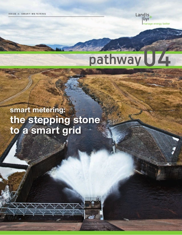 Smart metering – the stepping stone to a smart grid