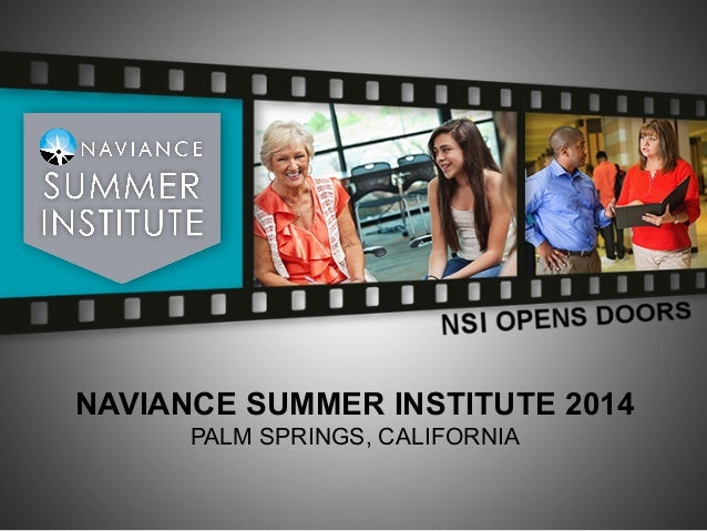 NSI 2014: Introduction to Naviance for Higher Education